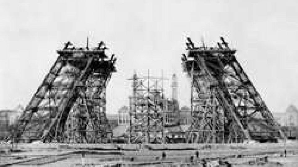 26 gennaio 1886: inizia la costruzione dell Torre Eiffel