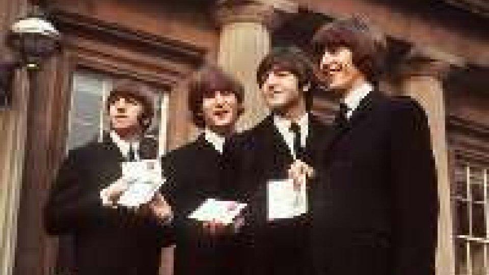Beatles, all'asta a NY primo contratto