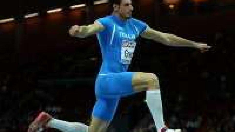 Atletica, Europei Goteborg: oro nel triplo per Greco, Eugenio Rossi registra un 2.08Triplo d'oro per Greco