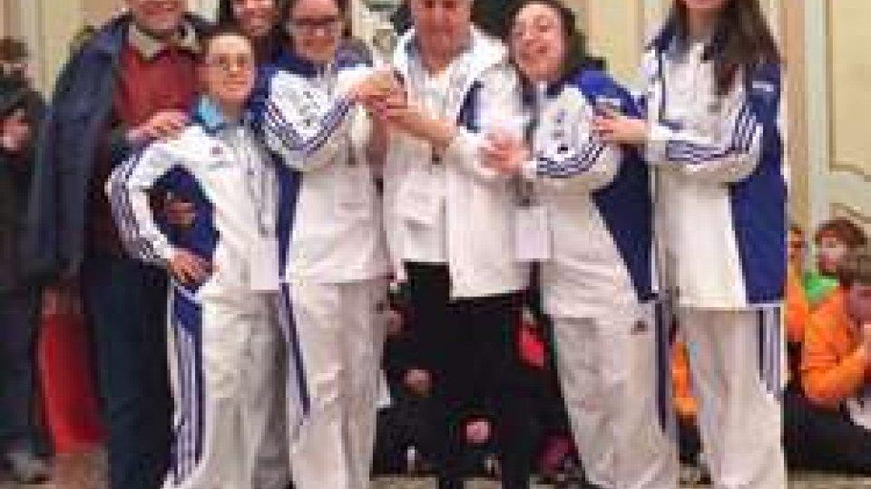 Le Atlete Special Olympics San Marino al Trofeo Zita Peratti
