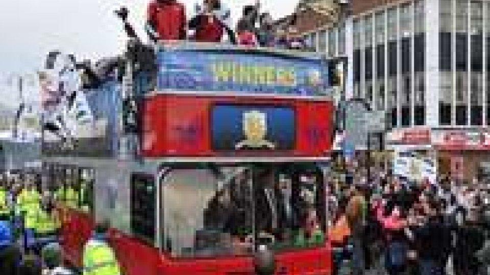Lo Swansea sfila con la Coppa e Laudrup parla di rinnovo