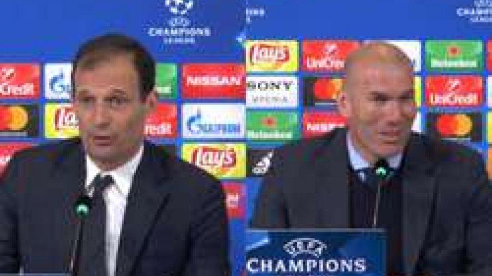 Allegri e Zidane