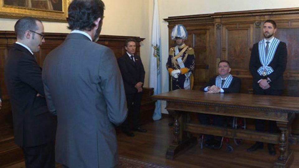 il primo ambasciatoreLettere credenziali: ecco i 4 nuovi ambasciatori accreditati in Repubblica
