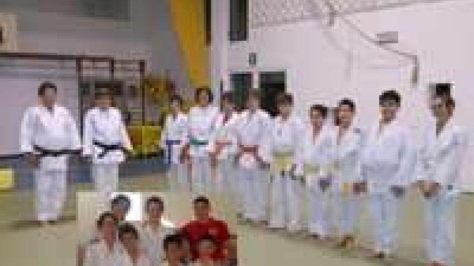 """Judo: pieno di medaglie per la squadra del """"Sakura"""""""