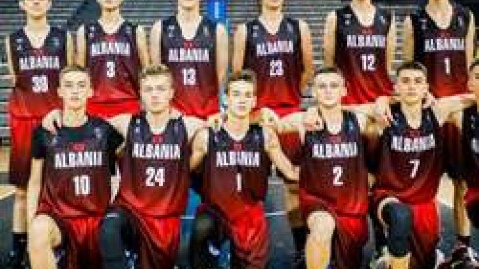 Eurobasket U16, Albania batte Moldova 52-43