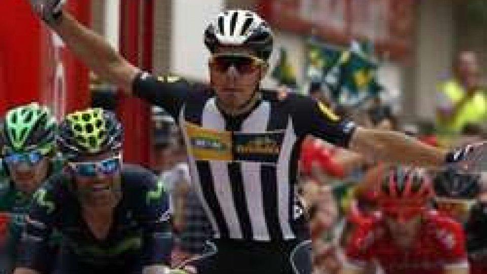 Kristian SbaragliVuelta, Sbaragli firma la prima vittoria azzurra. Oggi riposo, poi la montagna