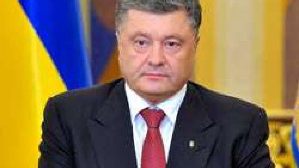 """Petro PoroshenkoUcraina: Poroshenko preoccupato per i contenuti della legge polacca sull'Istituto per la memoria nazionale. """"Inaccettabili"""""""