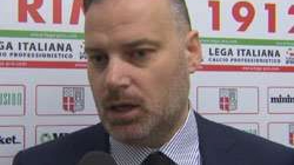 """Fabrizio De MeisRimini: De Meis: """"rinforzeremo la squadra, resterà in Lega Pro"""""""