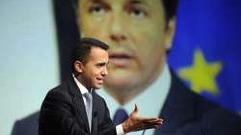 """Pd-M5S, nessun accordo. Di Maio: """"Decide tutto Renzi"""""""