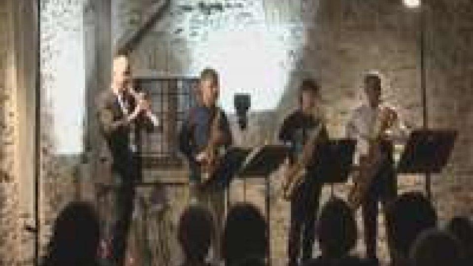 """Aperta """"Musica nel Chiostro"""" con Italian Saxophone Quartet"""
