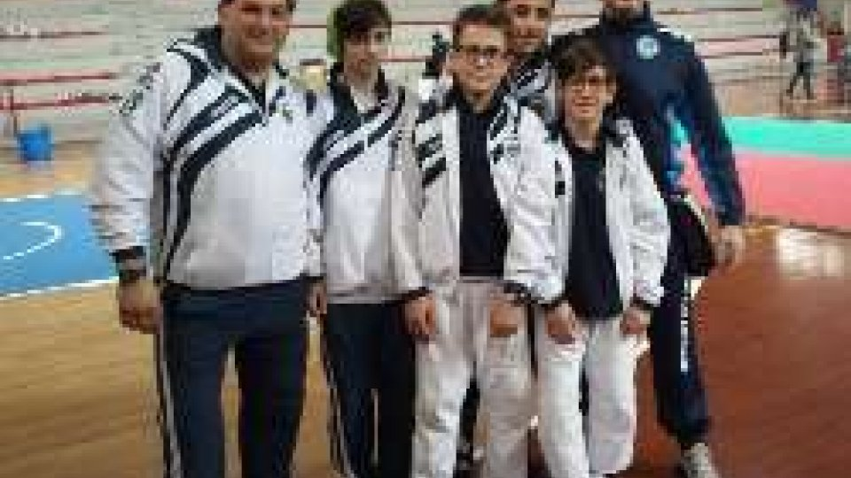 Tre primi posti per il Judo Club San Marino a Marotta