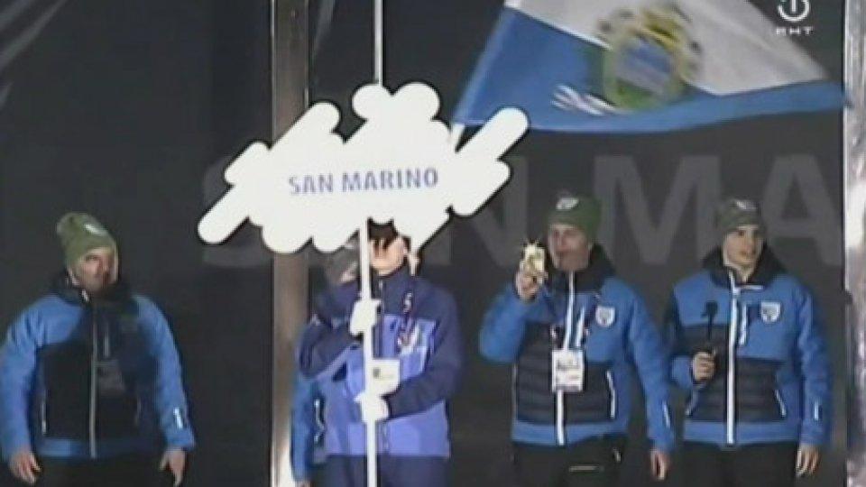La cerimonia di aperturaEYOF 2019: c'è anche San Marino alla cerimonia d'apertura