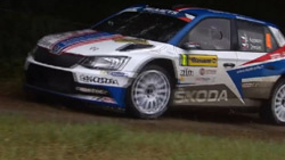 Jan Kopecky vince il Barum Rally