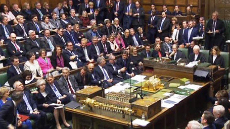 Il parlamento britannico. @Ansa