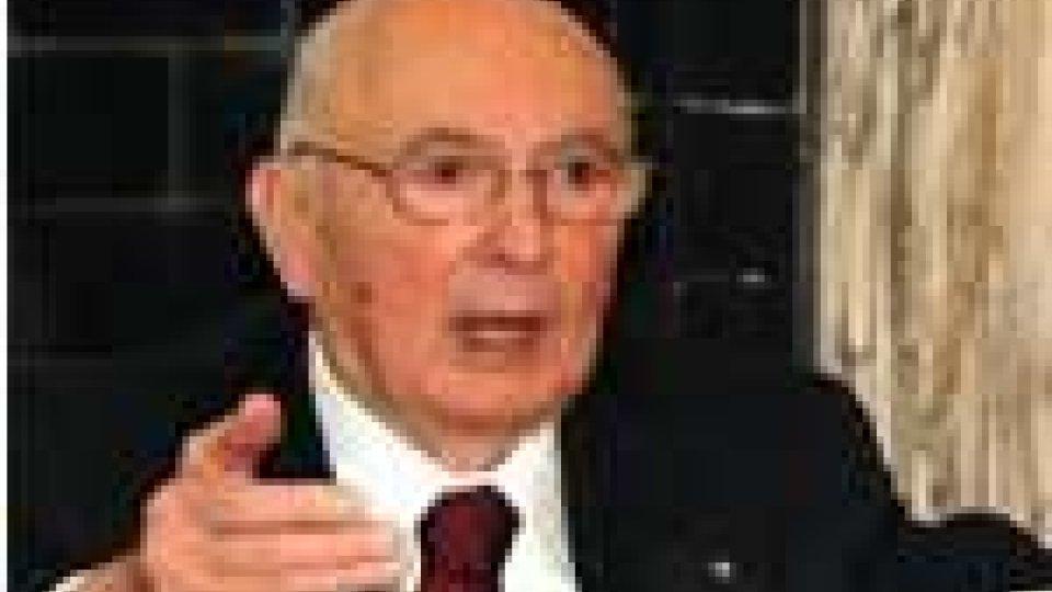 San Marino - Stefano Baldini insignito da Giorgio Napolitano
