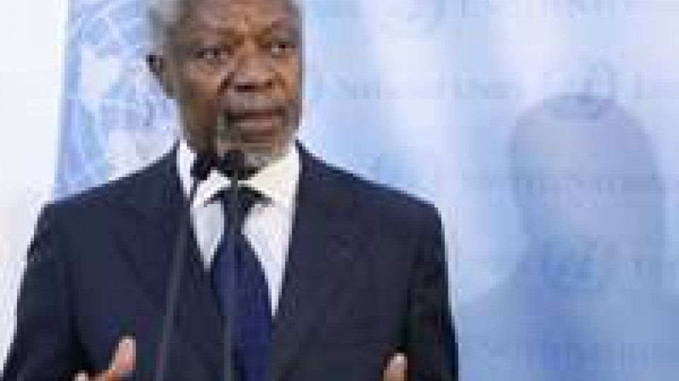 Siria: l'inviato Annan riferirà oggi all'Onu