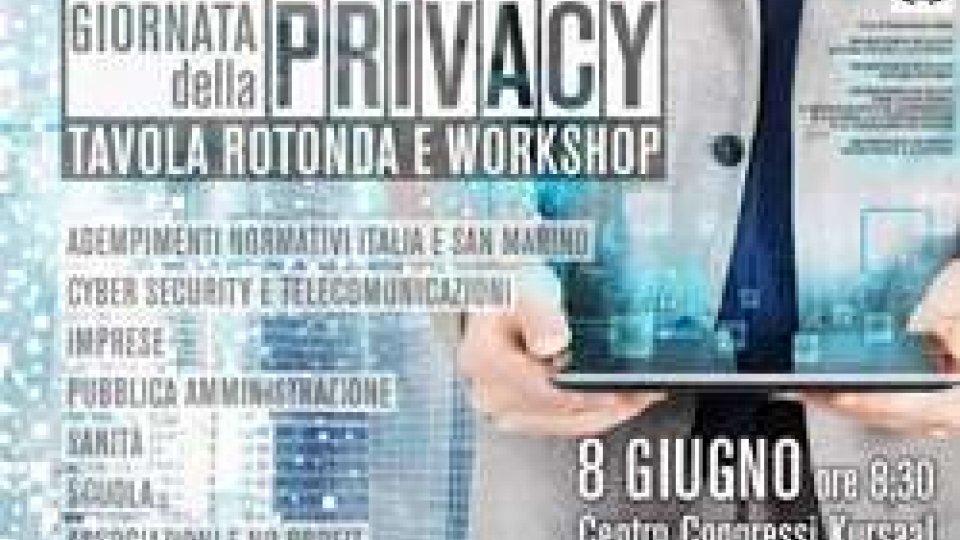 CC San Marino: presentazione convegno Privacy - 8 giugno