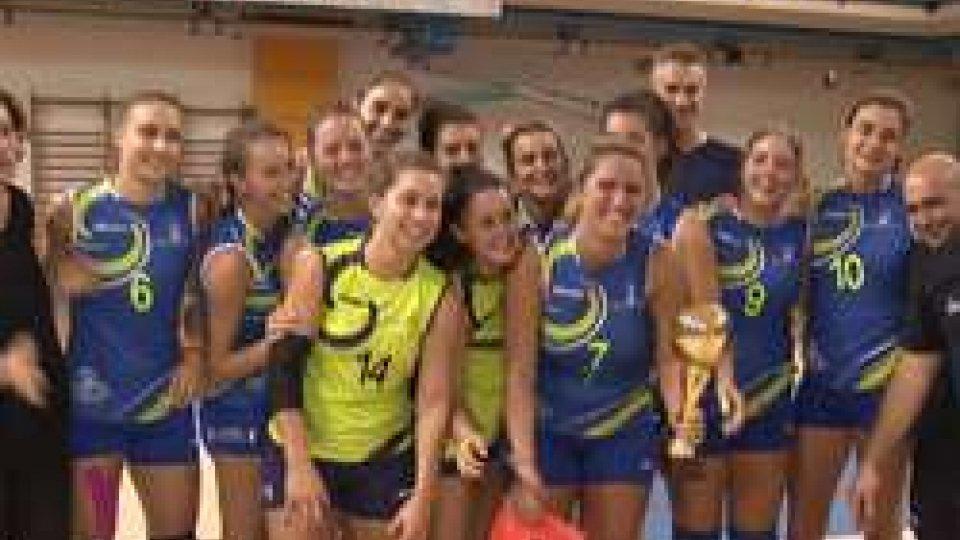 Volley, il San Marino vince il Memorial Benvenuti: Rubicone ko 3-0
