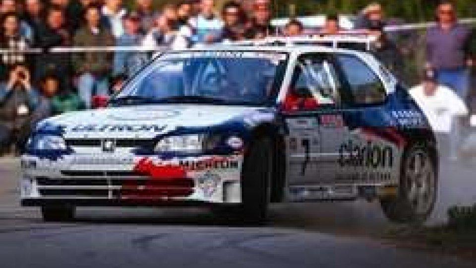 Gilles Panizzi per la prima volta a RallyLegend, in gara con la Peugeot 306 Maxi