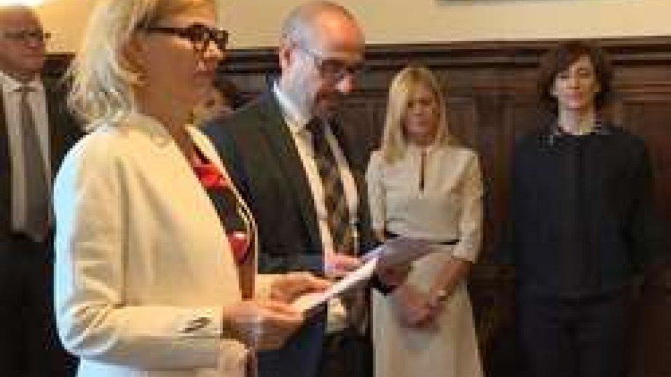 San Marino e l'Agenda 2030: delegazione OMS dalla ReggenzaSan Marino e l'Agenda 2030: delegazione OMS dalla Reggenza