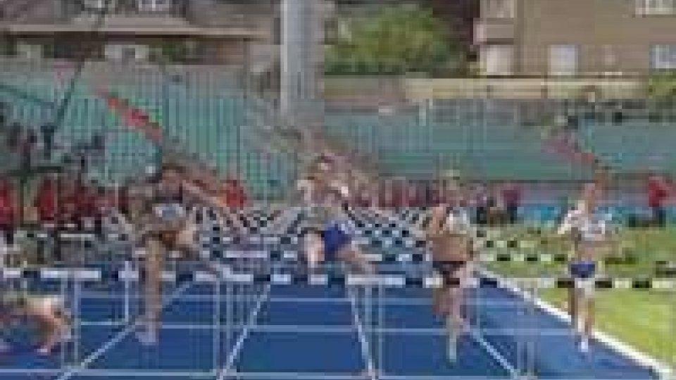 Rustignoli bronzo nei 110 ostacoli