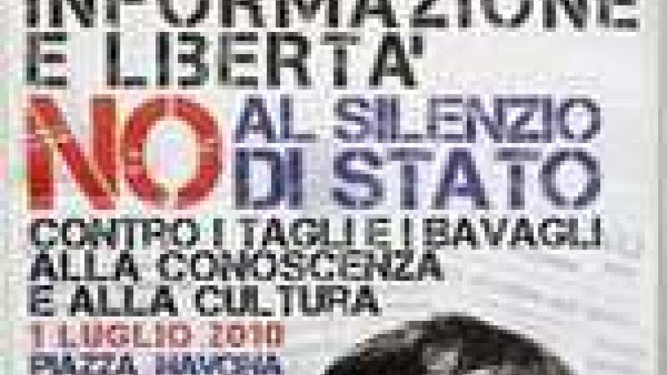 Ddl sulle intercettazioni: a Roma scendono in piazza stampa, studenti e opposizione