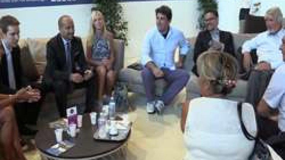 segretari Zafferani e Santi a confronto con ministro PolettiMeeting: segretari Zafferani e Santi a confronto con ministro Poletti