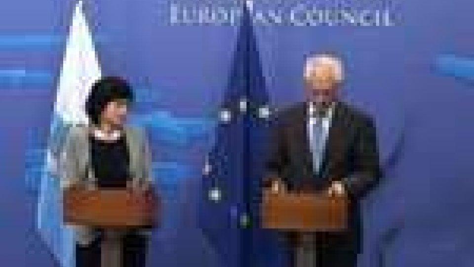 Confronto europeo. Il segretario agli Esteri a colloquio con il presidente del Consiglio Europeo