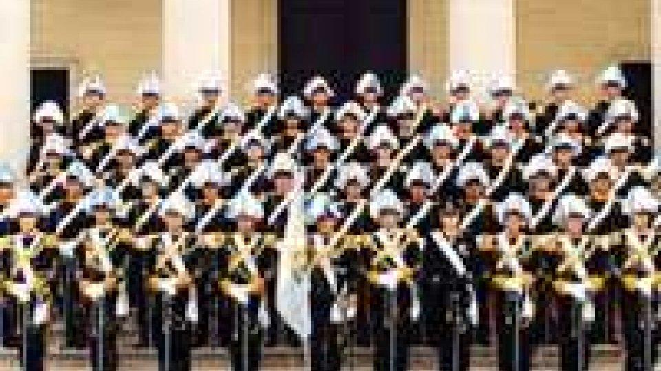Bando arruolamento per 15 Militi della Guardia del Consiglio Grande e Generale