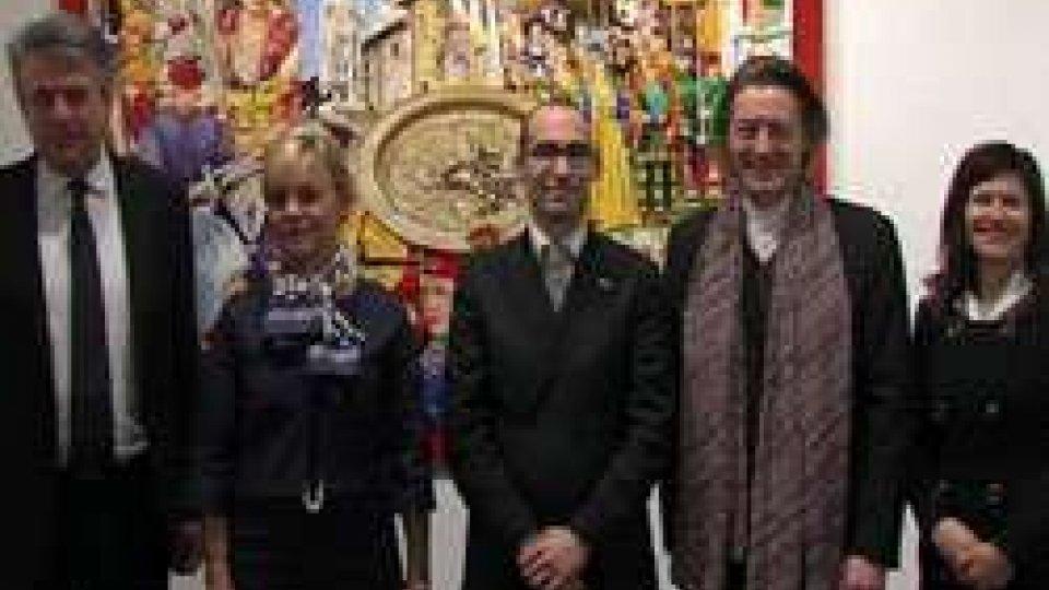 Anton Molnar realizza un'opera per San Marino