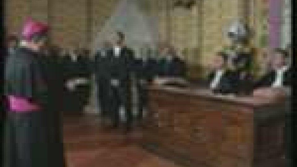 Il discorso del Nunzio Apostolico