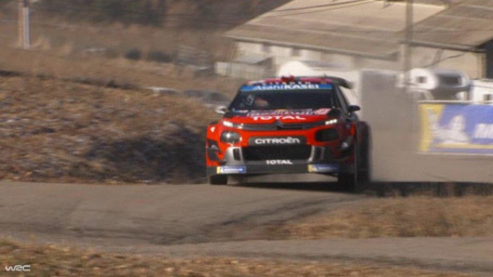 Rally di Montecarlo: Ogier al comando, Neuville a 2 secondiRally di Montecarlo: Ogier al comando, Neuville a 2 secondi