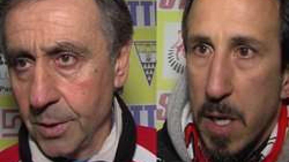 """Oscar Farneti - Alessandro MastronicolaPost Savignanese - Rimini, Farneti: """"Subito la loro forza in attacco"""""""
