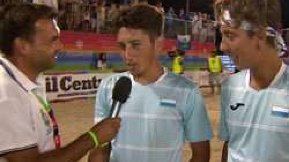 """Nicolo' Bombini e Alvise GalliBeach Tennis, Bombini-Galli: """"Ora non ci poniamo limiti"""""""