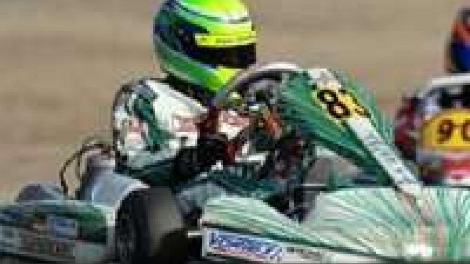 Kart: podio per Schumacher Jr, con dedica a papà Michael