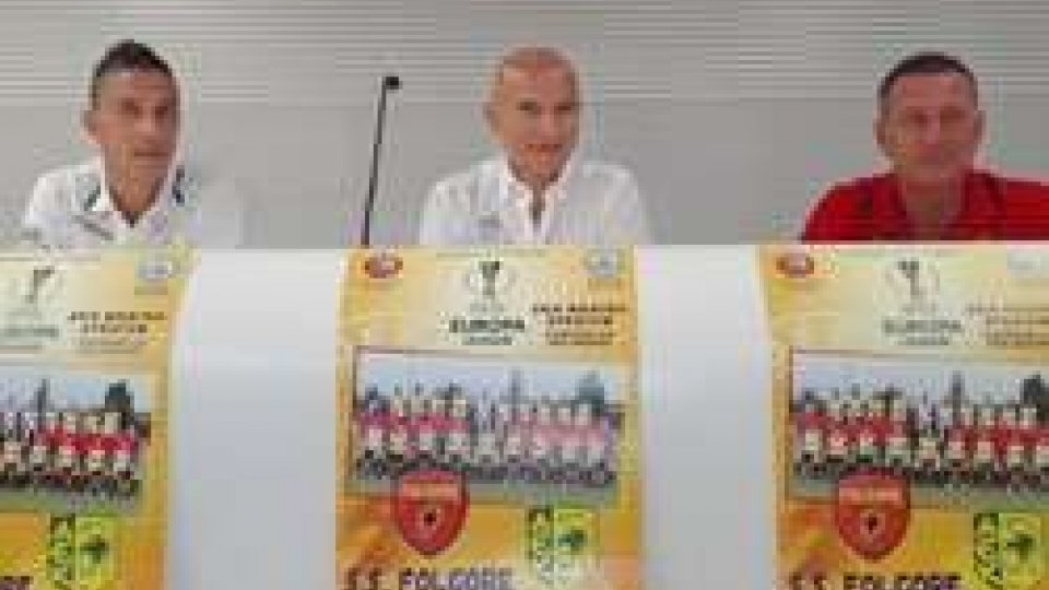 Europa League: la Folgore ospita l'AEK LarnacaEuropa League: la Folgore ospita l'AEK Larnaca