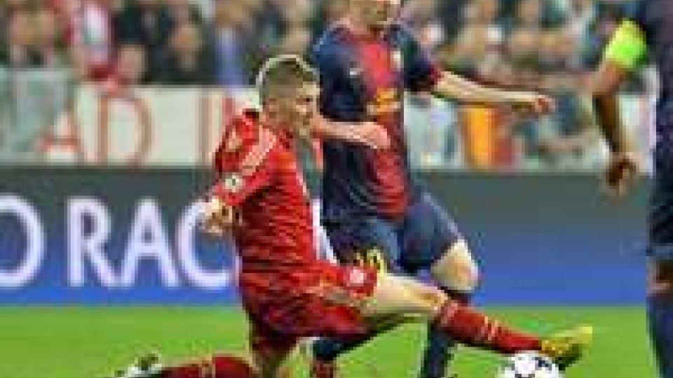 Champions League: Guardiola senza Robben e Ribery, Luis Enrique li ha tuttiChampions League: Guardiola senza Robben e Ribery, Luis Enrique li ha tutti