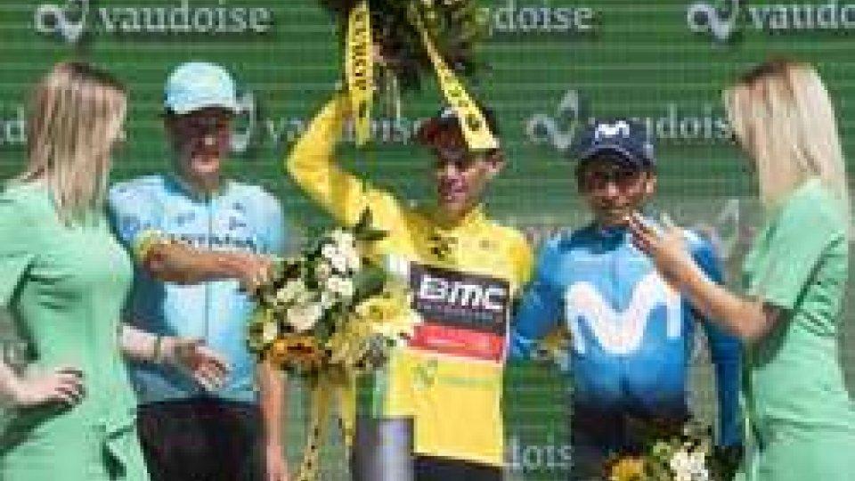 La premiazionePorte vince il Giro di Svizzera, ultima crono a Kung
