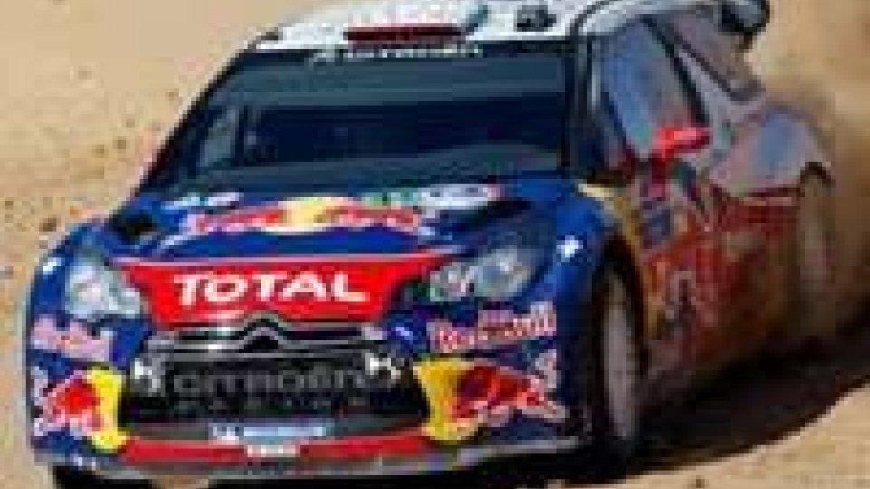 Rally d'Argentina, Loeb al comando dopo la prima tappa