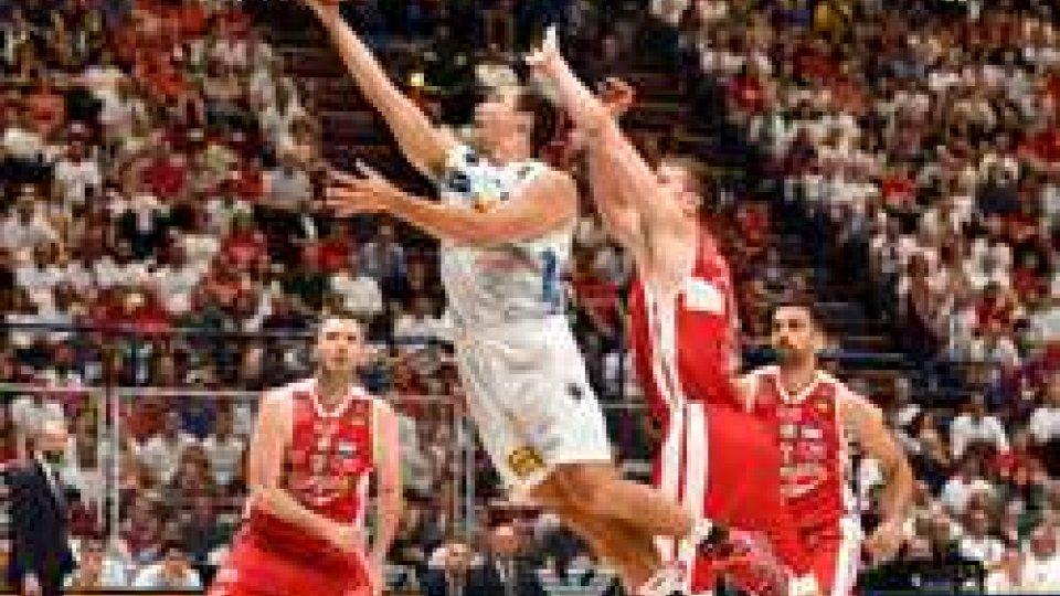 Basket, play-off: Trento raddoppia al Mediolanum ForumBasket, play-off: Trento raddoppia al Mediolanum Forum