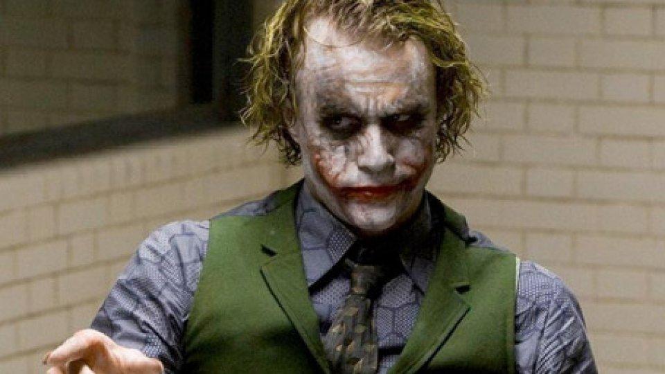 Heath Ledger nei panni del Joker
