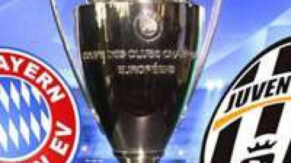 Champions League: martedì Bayern Monaco-Juventus