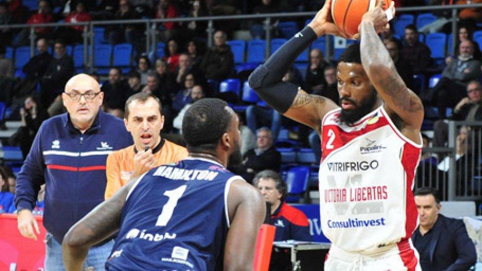 La VL dura solo 3 quarti e Brescia vince 86-92