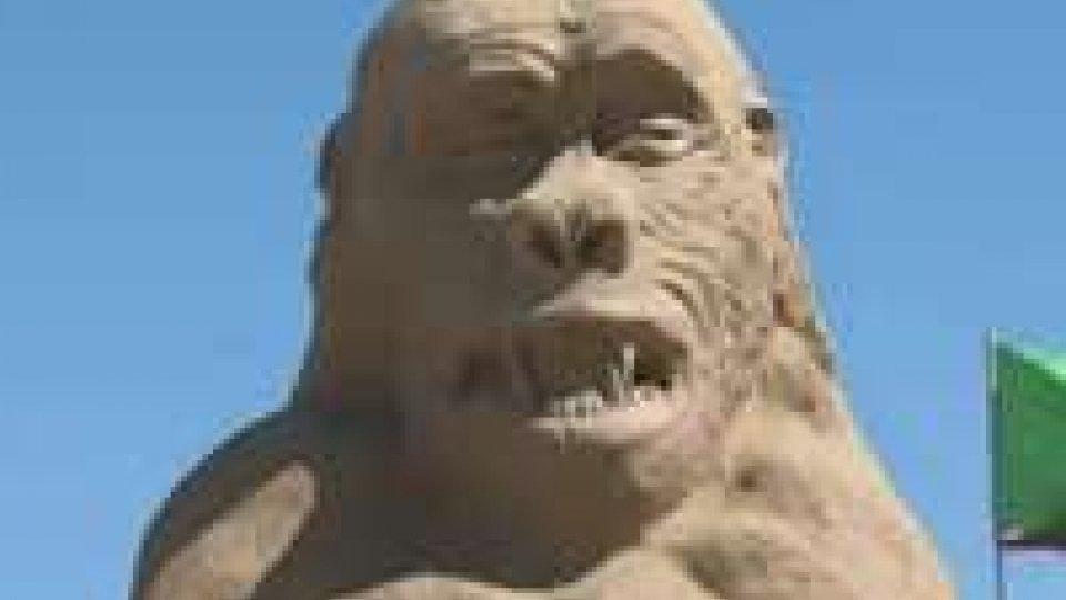 A Cervia il 16° campionato del mondo di sculture di sabbiaA Cervia il 16° campionato del mondo di sculture di sabbia