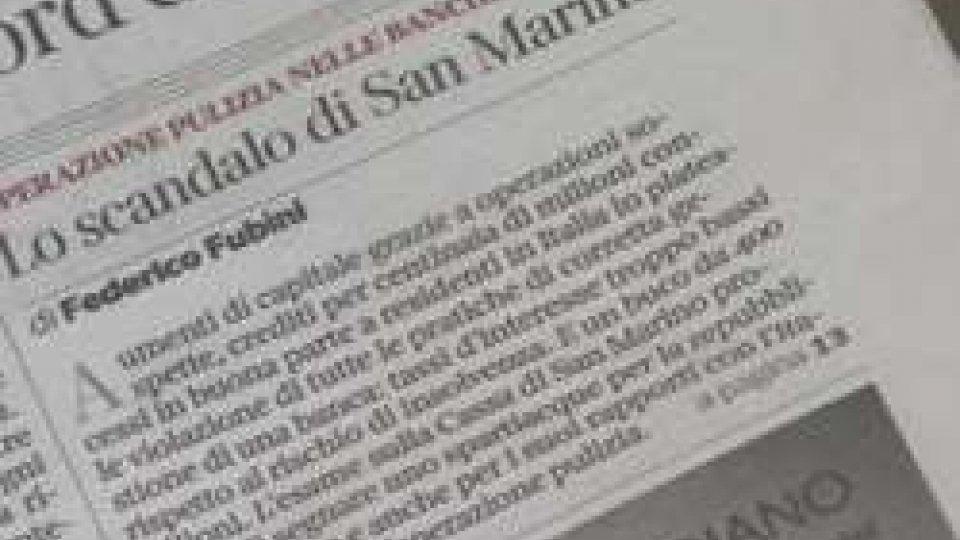 Il Corriere della SeraIl Corriere della Sera punta il dito su Cassa di Risparmio