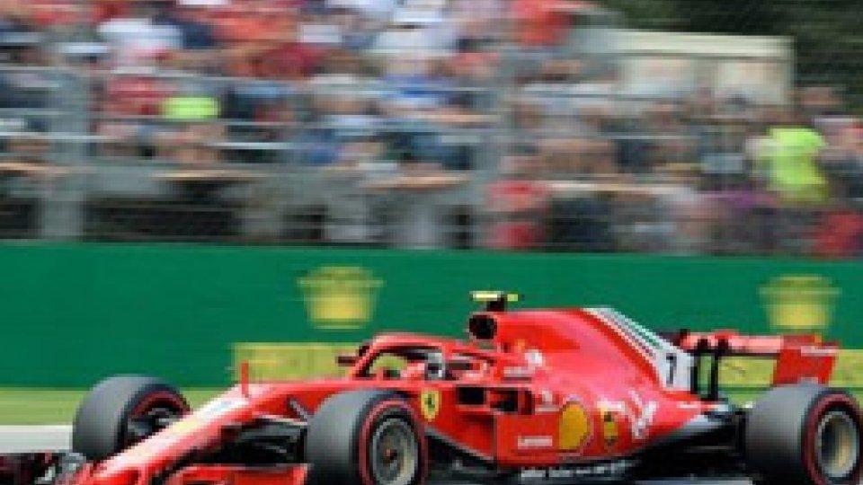 Delirio a Monza, prima fila tutta Ferrari