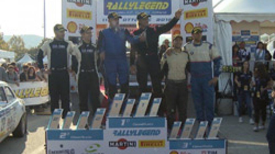 RallyLegendRallyLegend: vincono Craig Breen, Stefano Rosati e Totò Riolo