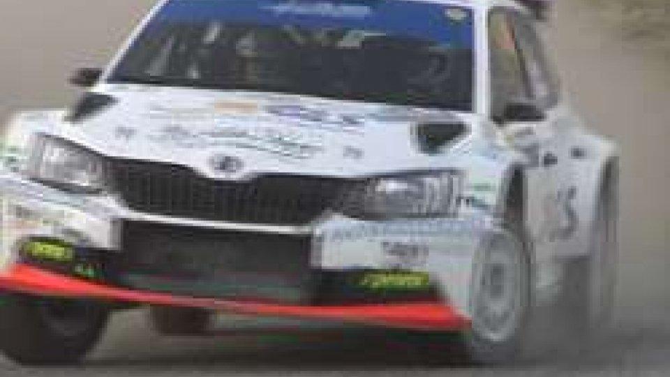 L'auto di Daniele CeccoliRally di San Marino: strepitosa vittoria di Daniele Ceccoli