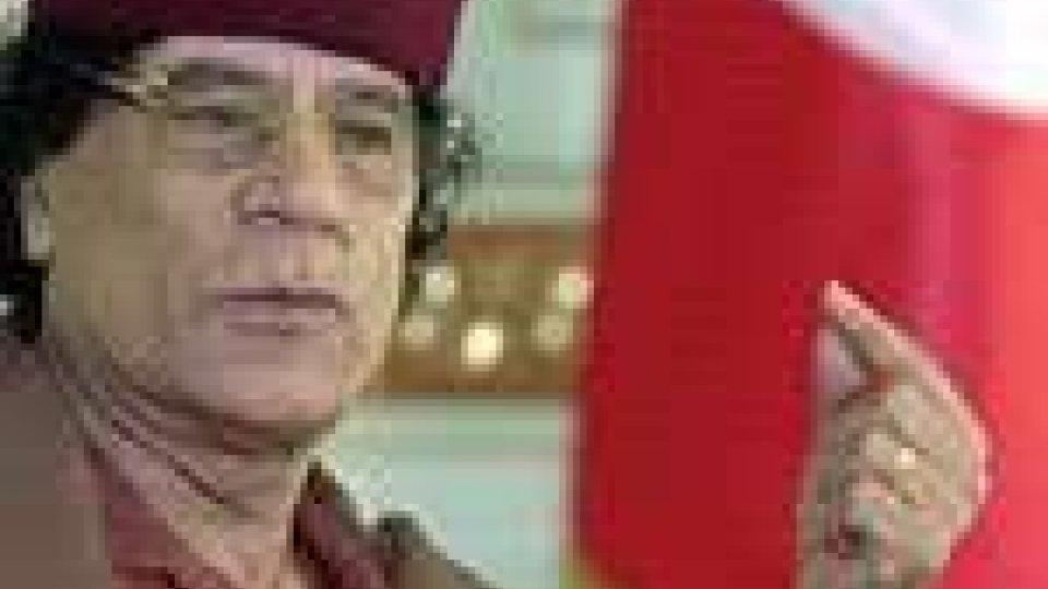 """Libia: Gheddafi contro """"la guerra psicologica e le menzogne"""""""