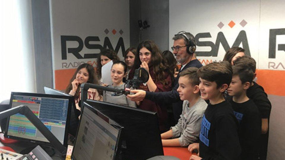 La visita alla radio